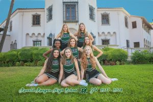 JV cheer team 2017-18