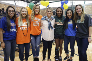 Reagan Girls 2017 NCAA Signing Day