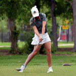 Faith Summers tees off at 2015 District Tournament