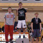 Kyle Gillespie 2012-13 120lb District Champion