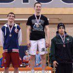 Jacob Andrus 2012-13 138lb District Champion