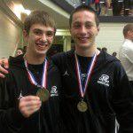 Kyle Gillespie & Jacob Andrus Regional Medalists
