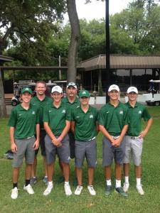 Varsity Boys Golf at Bart Granger Tournament at Pecan Valley