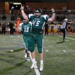 Kody Fox Celebrates Fumble Recovery (vs Brennan)