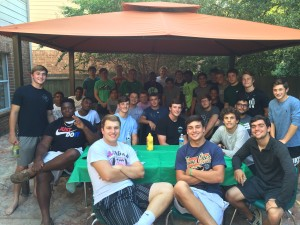 Defense Team Dinner at the Duhaimes.   What a great night!