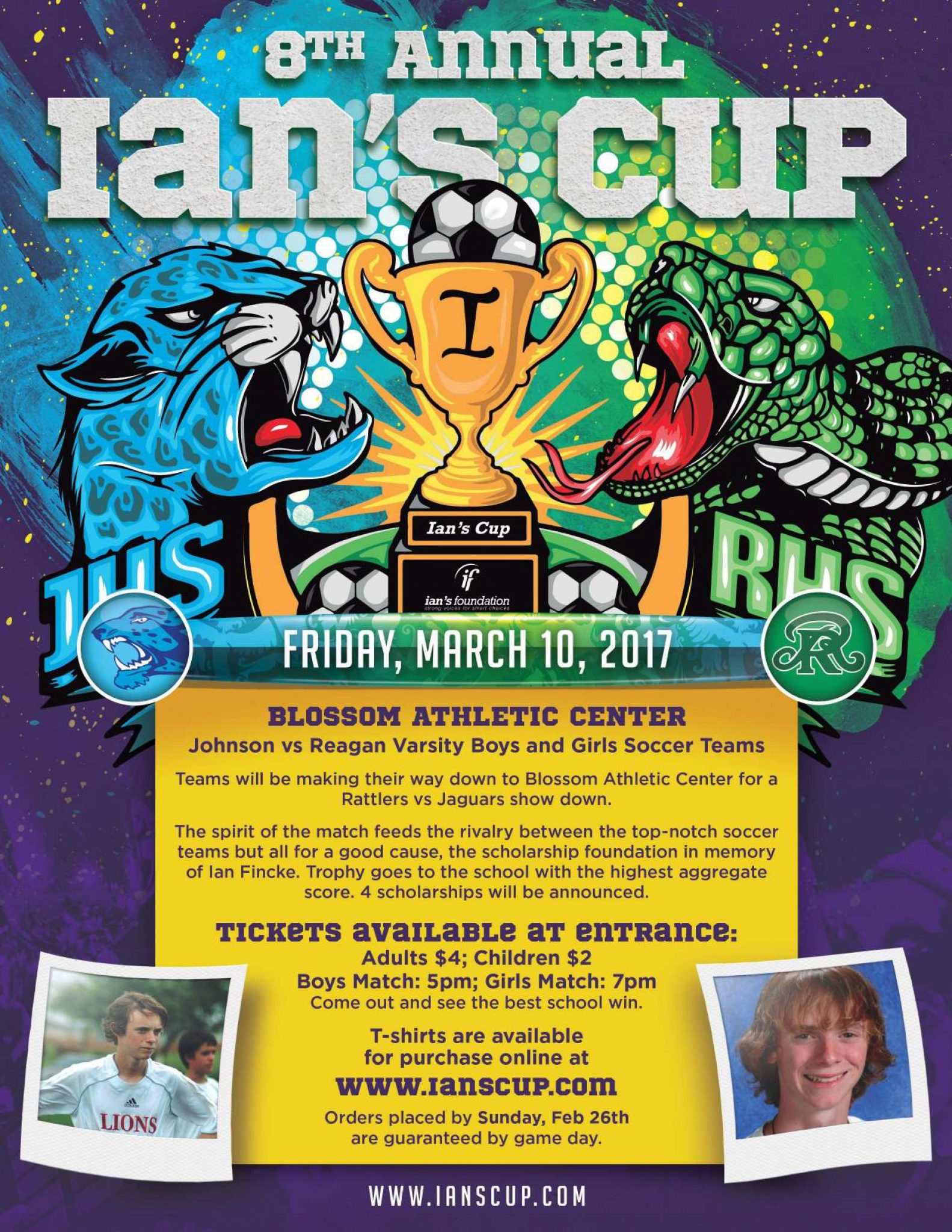 8th Annual Ian s Cup