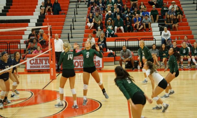 2017 Reagan Volleyball vs O'Connor