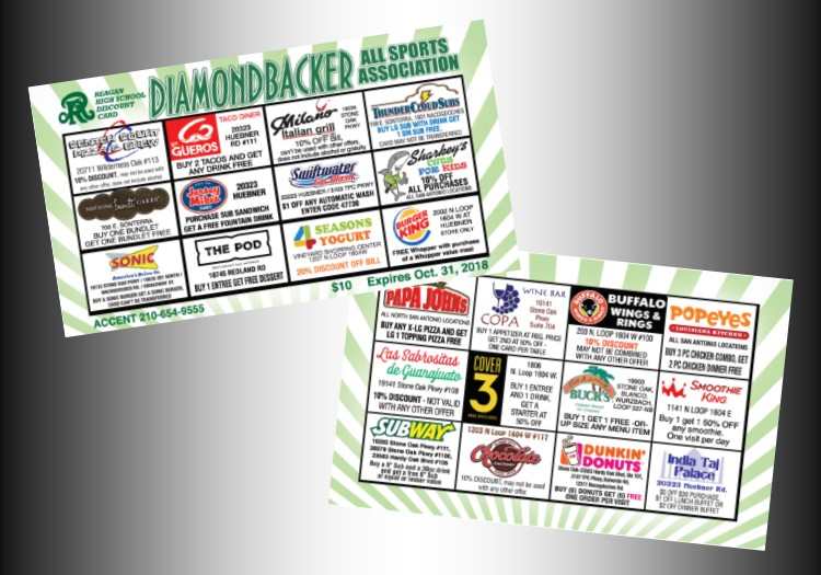 Discount Cards for Website