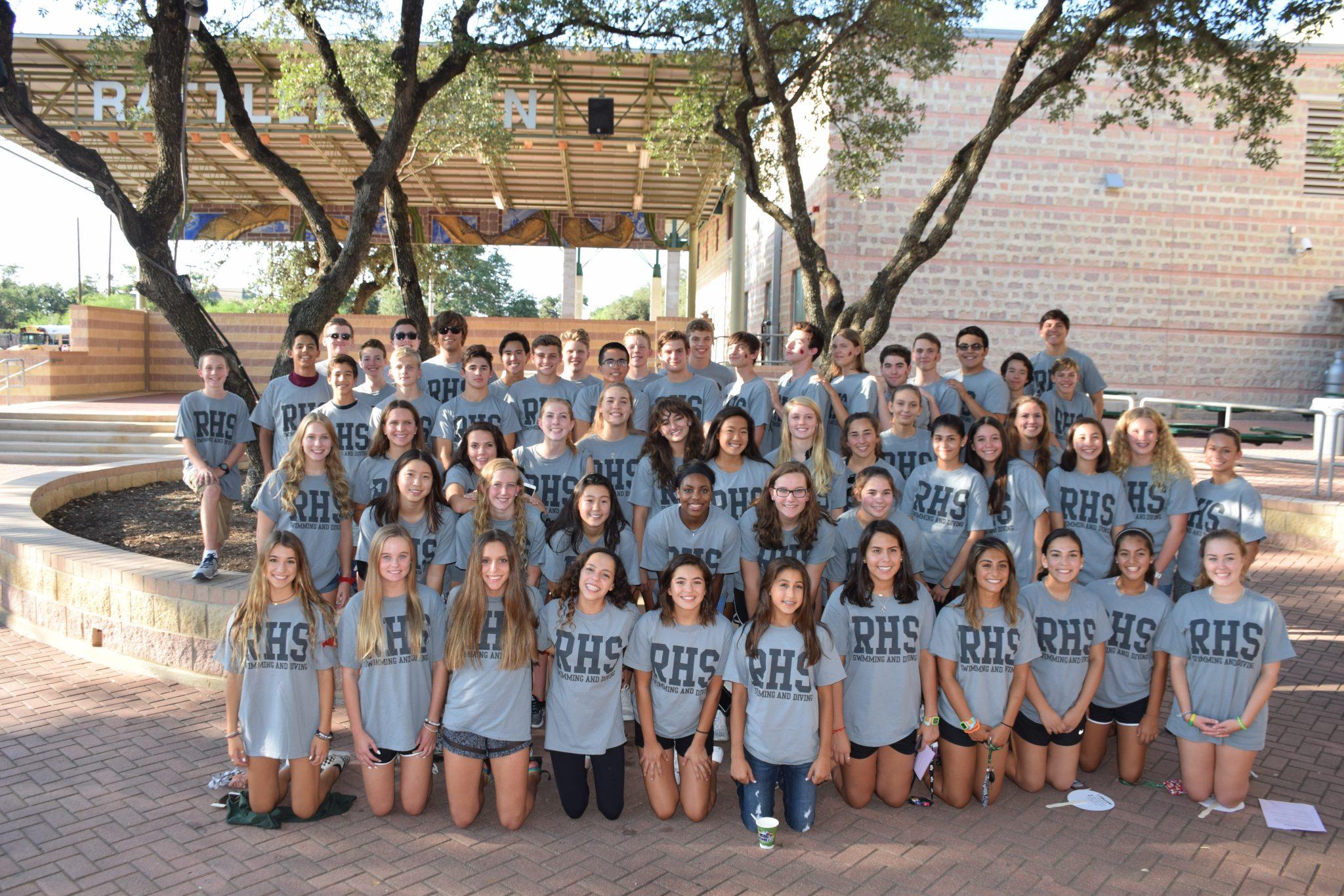 2017-2018 Reagan Aquatics Team