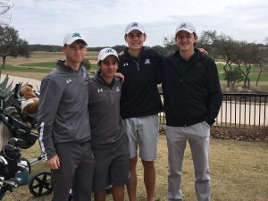 (L to R) Travis Folkes, Raul Gutierrez, Bennett Kumbalek, Christian Hansen)