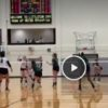Reagan Volleyball highlights from 3-0 sweep of Brandeis