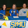 Bailey Godwin signs to play tennis at St. Mary's University