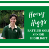 Reagan Class of 2020 Golfer Highlight: Henry Higgs
