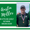 Reagan Class of 2020 Golfer Highlight: Austin Miller