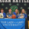 Basketball's Wollenzier to play at Our Lady of the Lake University