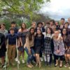 Wrestlers celebrate their Season at End of Year Banquet
